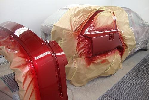Kabina lakiernicza serwis samochodowy ADAR